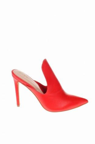 Γυναικείες παντόφλες Aldo, Μέγεθος 39, Χρώμα Κόκκινο, Γνήσιο δέρμα, Τιμή 27,53€