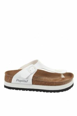 Γυναικείες παντόφλες Papillio, Μέγεθος 37, Χρώμα Λευκό, Δερματίνη, Τιμή 40,06€