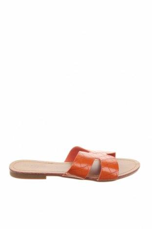Γυναικείες παντόφλες Suredelle, Μέγεθος 37, Χρώμα Πορτοκαλί, Δερματίνη, Τιμή 13,64€