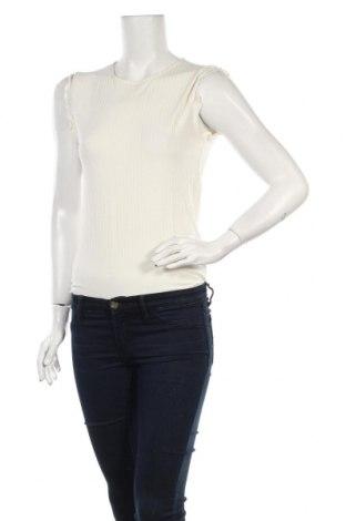 Дамска блуза - боди MSCH, Размер L, Цвят Бял, 94% вискоза, 6% еластан, Цена 27,00лв.