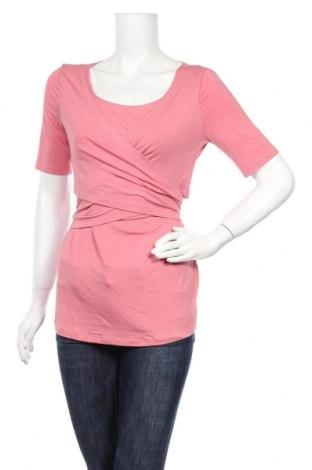 Дамска блуза 9 Fashion, Размер M, Цвят Розов, 94% вискоза, 6% еластан, Цена 13,63лв.