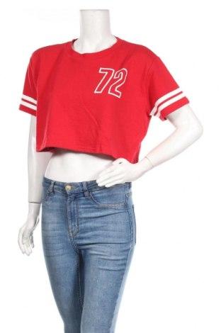 Дамска блуза Active Basic USA, Размер S, Цвят Червен, 60% памук, 40% полиестер, Цена 8,84лв.
