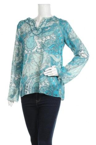 Дамска блуза Authentic Clothing Company, Размер L, Цвят Многоцветен, 100% полиестер, Цена 4,73лв.