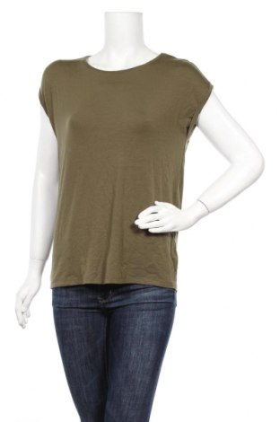 Γυναικεία μπλούζα Aware by Vero Moda, Μέγεθος XS, Χρώμα Πράσινο, 95% lyocell, 5% ελαστάνη, Τιμή 5,49€