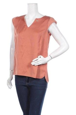 Дамска блуза Comma,, Размер S, Цвят Кафяв, 52% полиестер, 48% вискоза, Цена 41,00лв.