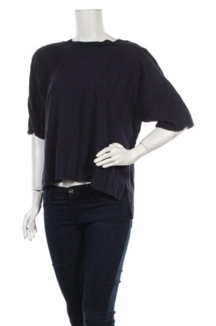 Γυναικεία μπλούζα Edc By Esprit, Μέγεθος L, Χρώμα Μπλέ, 75% βισκόζη, 25% λινό, Τιμή 9,28€