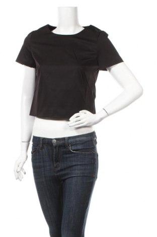 Дамска блуза Esprit, Размер S, Цвят Черен, Полиестер, Цена 13,00лв.