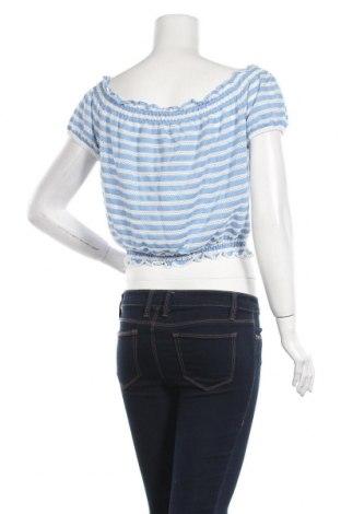Дамска блуза Even&Odd, Размер XL, Цвят Син, 63% полиестер, 33% вискоза, 4% еластан, Цена 32,00лв.