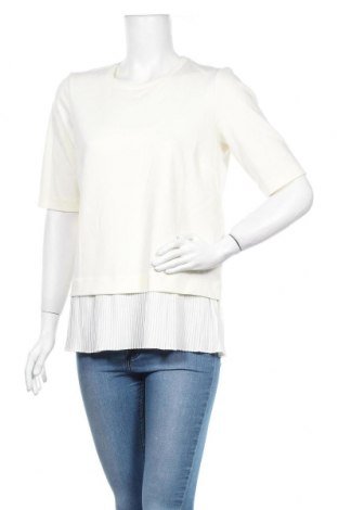 Дамска блуза In Wear, Размер L, Цвят Екрю, 82% полиестер, 13% вискоза, 5% еластан, Цена 34,30лв.
