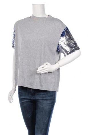 Γυναικεία μπλούζα Jennyfer, Μέγεθος M, Χρώμα Γκρί, 71% πολυεστέρας, 29% βαμβάκι, Τιμή 6,43€
