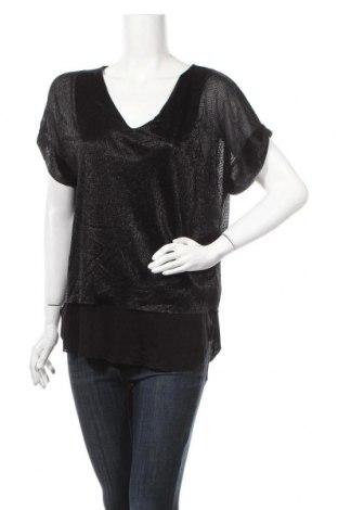 Γυναικεία μπλούζα La Fee Maraboutee, Μέγεθος M, Χρώμα Μαύρο, 57% πολυεστέρας, 43% μεταλλικά νήματα, Τιμή 11,74€