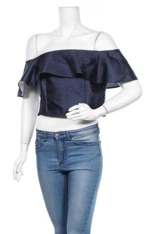 Bluză de femei Luxe, Mărime L, Culoare Albastru, Poliester, Preț 13,00 Lei