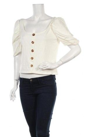 Γυναικεία μπλούζα Nly Trend, Μέγεθος L, Χρώμα Λευκό, 95% βαμβάκι, 5% ελαστάνη, Τιμή 7,09€