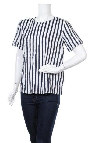 Γυναικεία μπλούζα Pieces, Μέγεθος L, Χρώμα Λευκό, Βισκόζη, Τιμή 5,54€