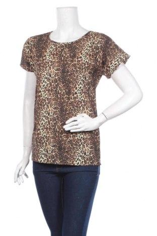 Дамска блуза Rita Koss, Размер M, Цвят Кафяв, 70% вискоза, 30% полиестер, Цена 7,22лв.