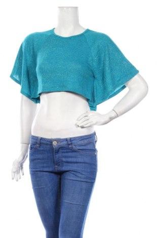 Γυναικεία μπλούζα Route 66, Μέγεθος S, Χρώμα Μπλέ, 92% πολυεστέρας, 4% ελαστάνη, 4% άλλα υλικά, Τιμή 3,41€