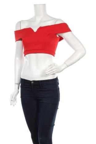 Γυναικεία μπλούζα Wal G, Μέγεθος M, Χρώμα Κόκκινο, 92% πολυεστέρας, 8% ελαστάνη, Τιμή 5,20€
