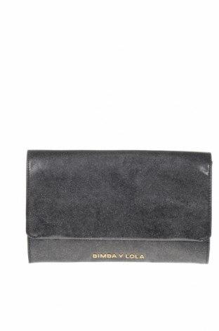 Γυναικεία τσάντα Bimba Y Lola, Χρώμα Γκρί, Δερματίνη, Τιμή 31,48€