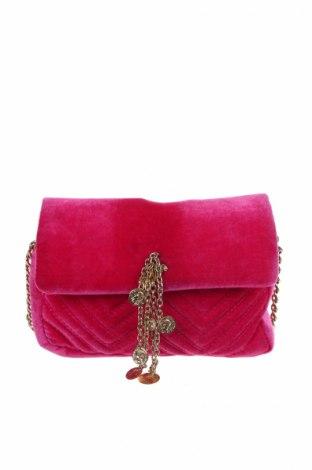 Дамска чанта Pull&Bear, Цвят Розов, Текстил, Цена 25,92лв.