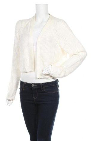 Дамска жилетка Cubus, Размер L, Цвят Бял, 73% акрил, 27% полиамид, Цена 5,56лв.