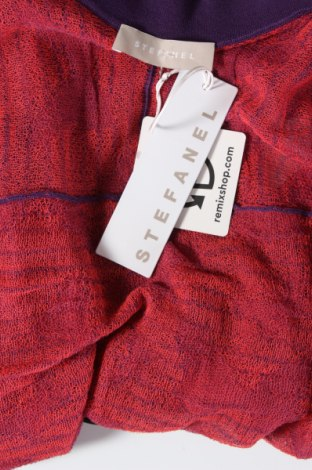 Дамска жилетка Stefanel, Размер XS, Цвят Розов, 70% памук, 30% полиамид, Цена 11,56лв.