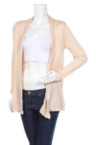 Дамска жилетка Zara, Размер M, Цвят Оранжев, 100% лен, Цена 6,05лв.