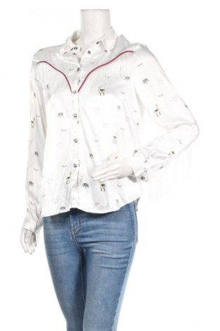 Дамска риза Mint & Berry, Размер M, Цвят Бял, Вискоза, Цена 23,94лв.
