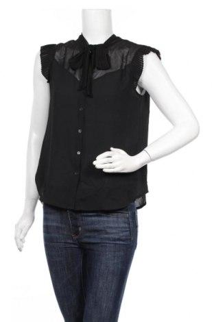 Дамска риза Mint & Berry, Размер M, Цвят Черен, Полиестер, Цена 52,00лв.