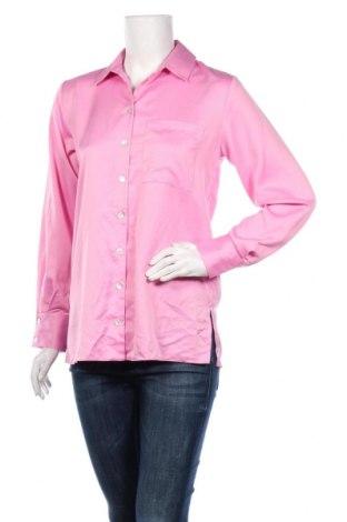 Дамска риза Miss Selfridge, Размер S, Цвят Розов, Полиестер, Цена 48,00лв.