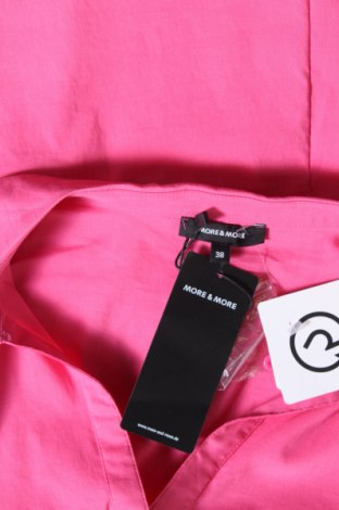 Дамска риза More & More, Размер M, Цвят Розов, 69% памук, 28% полиамид, 3% еластан, Цена 35,96лв.