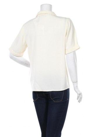 Дамска риза ONLY, Размер M, Цвят Екрю, Полиестер, Цена 24,38лв.
