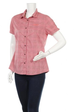 Дамска риза Sherpa, Размер M, Цвят Червен, 69% полиамид, 24% полиестер, 7% еластан, Цена 29,74лв.
