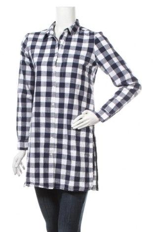 Γυναικείο πουκάμισο Tiffosi, Μέγεθος S, Χρώμα Μπλέ, Βαμβάκι, Τιμή 15,21€