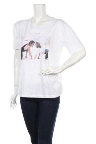 Дамска тениска, Размер XS, Цвят Бял, Памук, Цена 13,51лв.