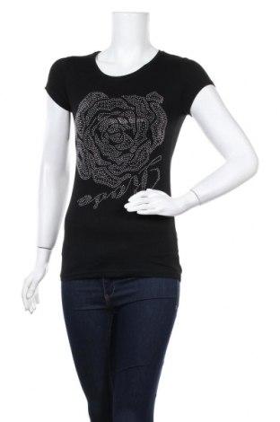 Дамска тениска, Размер S, Цвят Черен, Цена 28,00лв.
