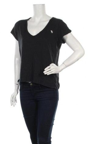 Γυναικείο t-shirt Abercrombie & Fitch, Μέγεθος L, Χρώμα Μπλέ, Βαμβάκι, Τιμή 15,15€