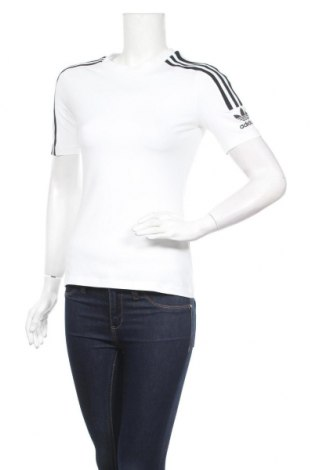 Дамска тениска Adidas Originals, Размер S, Цвят Бял, 92% памук, 8% еластан, Цена 44,85лв.