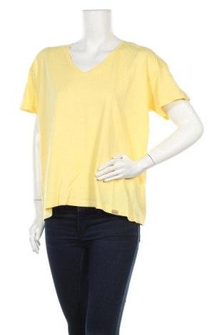 Дамска тениска Blend She, Размер L, Цвят Жълт, Памук, Цена 14,50лв.