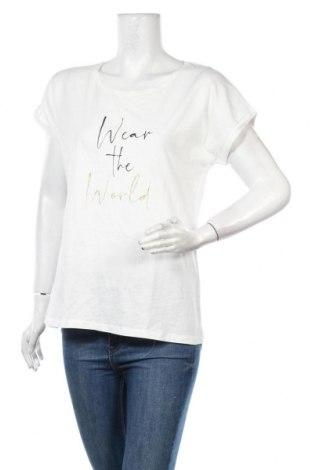 Дамска тениска Cream, Размер L, Цвят Бял, Памук, Цена 44,25лв.