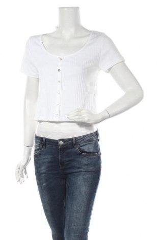 Дамска тениска Even&Odd, Размер XL, Цвят Бял, Памук, Цена 34,00лв.