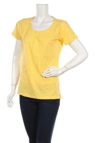 Дамска тениска G.I.G.A. Dx by Killtec, Размер L, Цвят Жълт, Памук, Цена 35,20лв.