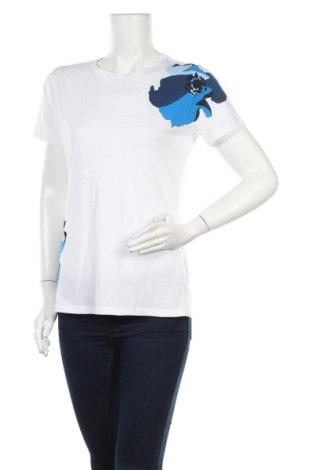 Дамска тениска Hugo Boss, Размер M, Цвят Бял, 100% памук, Цена 77,35лв.