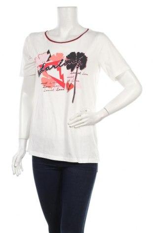 Γυναικείο t-shirt Laurel, Μέγεθος M, Χρώμα Λευκό, 46% μοντάλ, 46% βαμβάκι, 8% ελαστάνη, Τιμή 22,41€