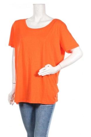Дамска тениска Lawrence Grey, Размер XXL, Цвят Оранжев, 50% памук, 50% вискоза, Цена 33,12лв.