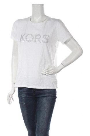 Дамска тениска Michael Kors, Размер L, Цвят Бял, 100% памук, Цена 139,00лв.