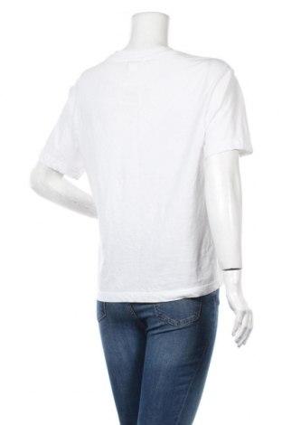 Дамска тениска Monki, Размер S, Цвят Бял, Памук, Цена 18,56лв.