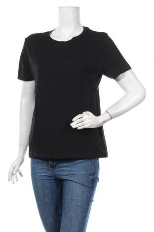 Дамска тениска Pull&Bear, Размер L, Цвят Черен, Памук, Цена 20,80лв.