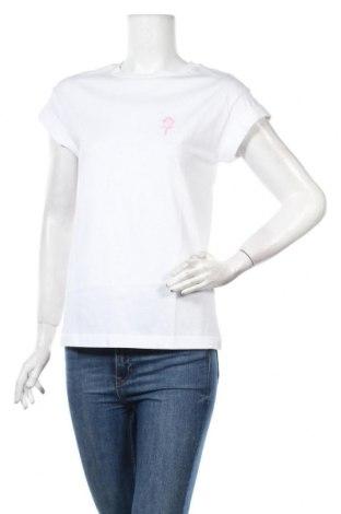 Дамска тениска Rich & Royal, Размер XS, Цвят Бял, 100% памук, Цена 39,44лв.