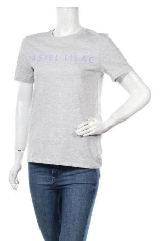 Дамска тениска Selected Femme, Размер S, Цвят Сив, Памук, Цена 20,88лв.