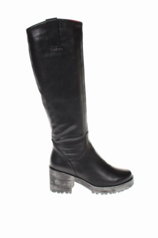 Γυναικείες μπότες Gai Mattiolo, Μέγεθος 37, Χρώμα Μαύρο, Δερματίνη, Τιμή 50,52€